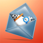 Stylish Mail Icon