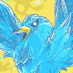 Colorful Twitter Background