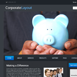 Corporate Blog Layout