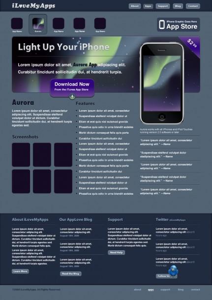 iPhone App Site