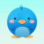 Cute Twitter Bird Icon