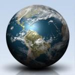 Shiny 3D Earth