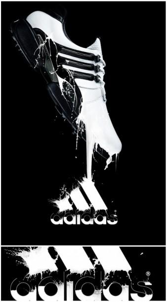 Fluid Shoe Advertisement