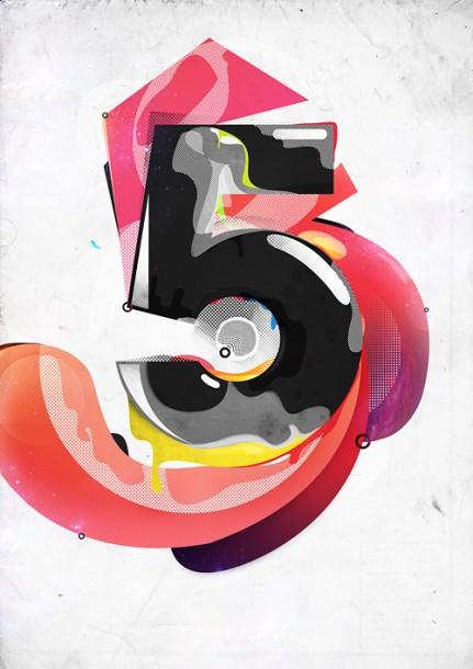 Number Based Illustration
