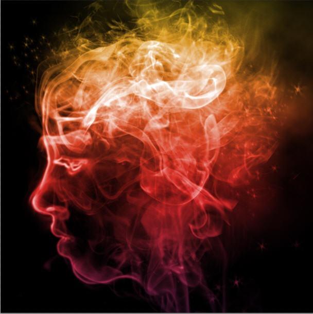 Colorful Smoke Portrait