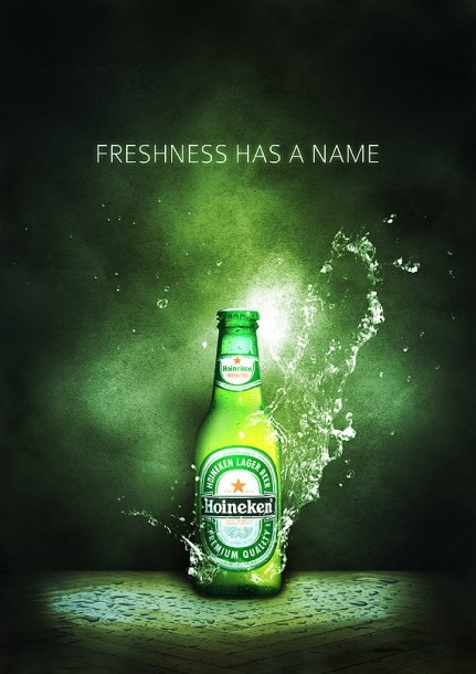 Refreshing Drinks Advertisement