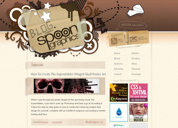 Blog Spoon Graphics