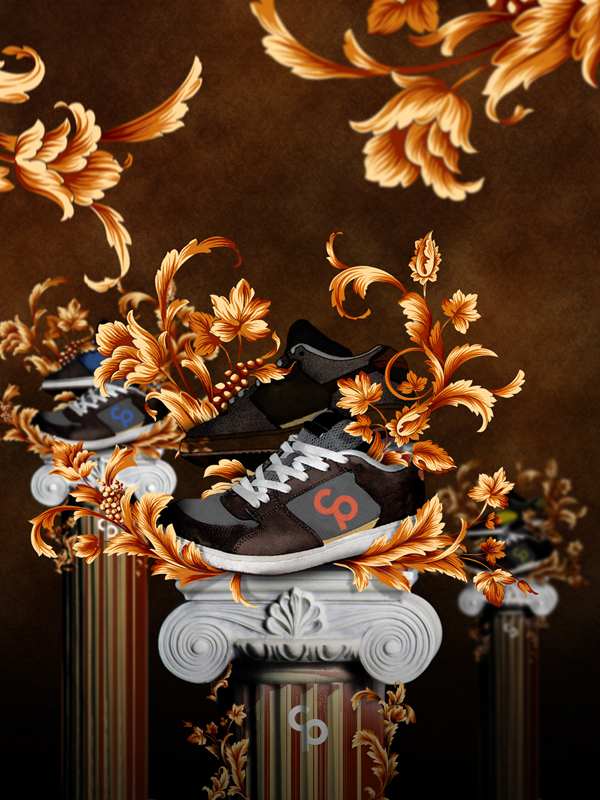 Shoe Advertisement Poster