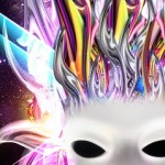 Colorful Glowing Mask