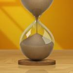 Realistic Hourglass